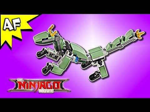 Vidéo LEGO Ninjago 30428 : Green Ninja Mech Dragon (Polybag)