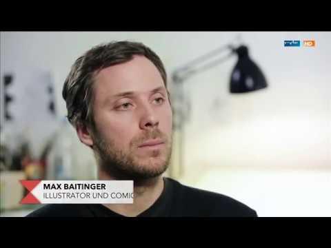 Comicautor Max Baitinger - Holocaust-Erzählungen die anders nicht gehört werden