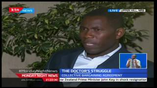 Monday Night News: Dr. Ouma Oluga Secretary General KMPDU  issues medics strike, 5/12/16