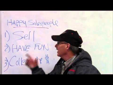 How to Be a Happy Salesperson with Larry Cockerel, Sales Training