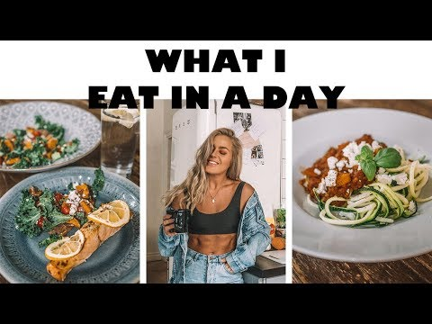 WHAT I EAT IN A DAY / Healthy + Easy