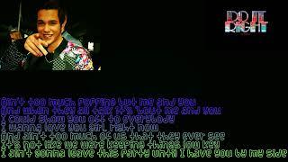Austin Mahone- Do it right Ft. Rob Villa lyrics