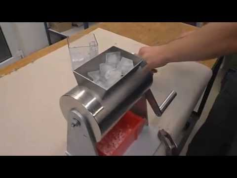 Projekt Ice Crusher