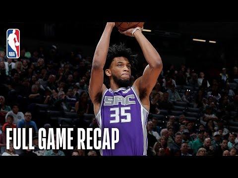 BULLS vs KINGS | Sacramento Scores A Season-High 80 Paint Points | March 172019