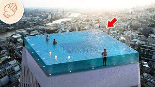 讓人震驚的游泳池