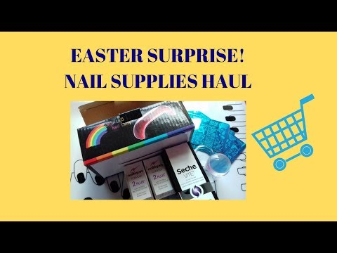 Easter Suprise! (Nail Supplies Haul)