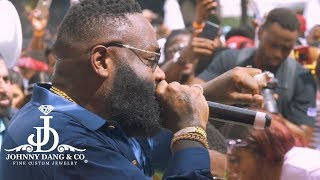 RICK ROSS 4TH OF JULY POOL PARTY AT CLE'  W THE DIAMOND BOYZ