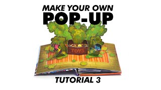 Make Your Own Pop-Up Book 3: 3D Box With Platform