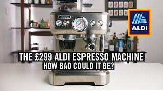 The £299 Aldi Espresso Machine - How Bad Could It Be?
