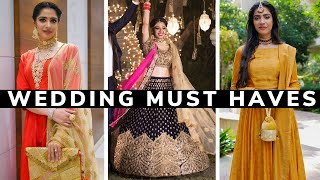 15 Wedding Essentials & Tips