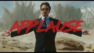 Tony Stark | Live for the Applause
