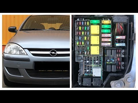 TUTORIAL: Opel / Vauxhall Corsa C (2000 - 2006) fuses and relay box location