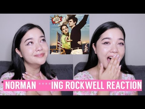 REACTING TO NORMAN ****ING ROCKWELL! BY LANA DEL REY *emotional*