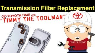 Transmission Filter Replacement