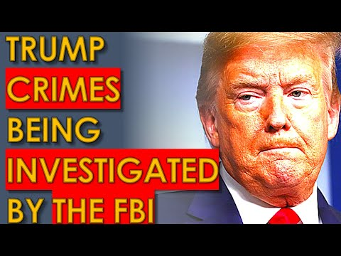 Trump CRIMES being INVESTIGATED by FBI: Report