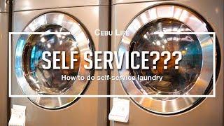 How to self service laundry   Cebu Life S03E23