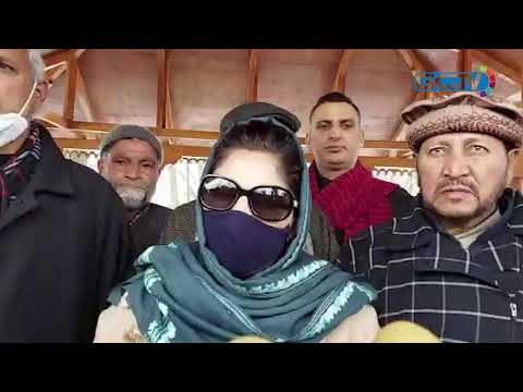 Mehbooba pays tribute to father on death anniversary, says dialogue only way to resolve issues