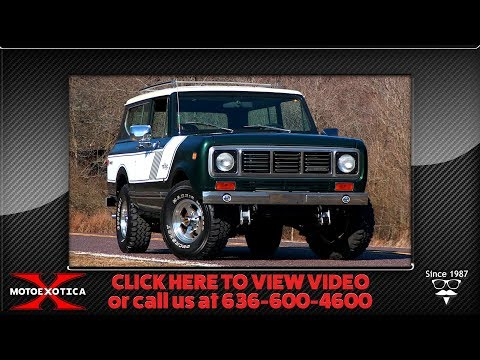 Video of '76 Scout II - PQC2