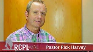 Pastor Rick Harvey - Leading Church Boards
