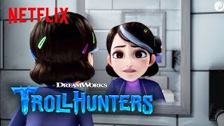 Trollhunters | Claire Gets Possessed | Netflix