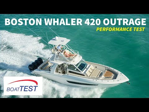 Boston Whaler 420 Outrage video