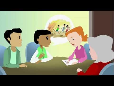 Hva nå? Informasjon om asylprosessen for enslige mindreårige asylsøkere (amharisk).