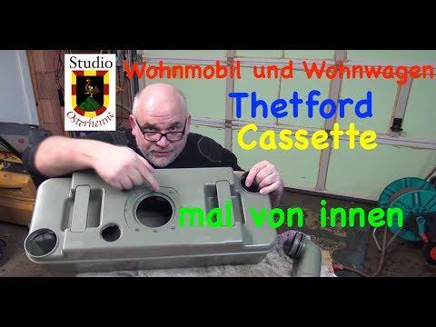 Thetford Casette Behälter von innen repariert Wohnmobil oder Wohnwagen Tipps Ratschläge
