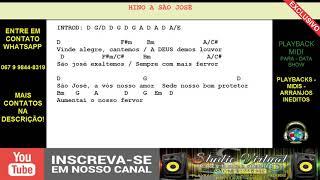 HINO A SÃO JOSÉ - PLAYBACK MIDI