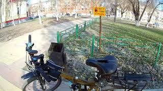 Велопрогулка по городу. Апрель 2019 год.  Самара