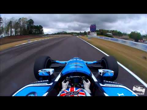 Max Chilton onboard at Barber Motorsports Park