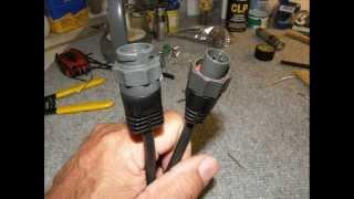 Eagle depth finder cables