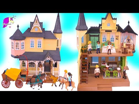 Lucky's House + Horses Sets ! Spirit Riding Free Playmobil Playset Haul