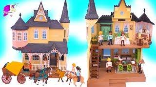 Lucky's House + Horses Sets ! Spirit Riding Free Playmobil Playset Haul
