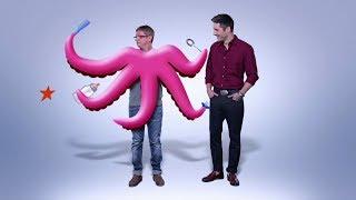 Папа-осьминог - не пропустите премьеру сериала Папаньки уже скоро на ICTV