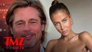 Brad Pitt Flies To France With German Model Nicole Poturalski | TMZ