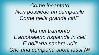 Andrea Bocelli - Ave Maria No Morro Lyrics