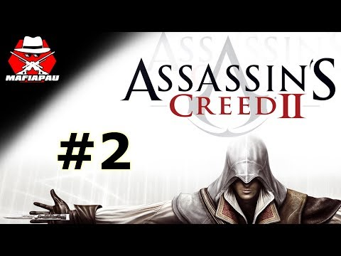 KOZIČKY A ČERVENEJ LÍVANEC CHCÍPNUL!   Assassin's Creed 2   #2   CZ Let's play   Mafiapau