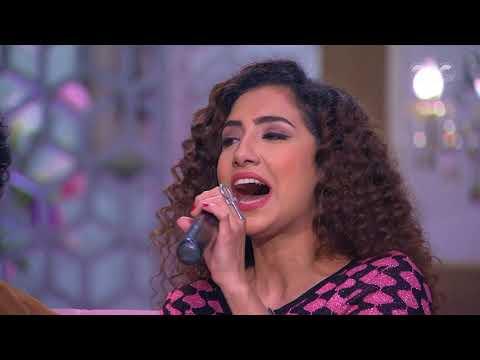 """محمد عادل """"ميدو"""" وشقيقتاه يقدمون أغنية من التراث المصري في """"معكم منى الشاذلي"""""""