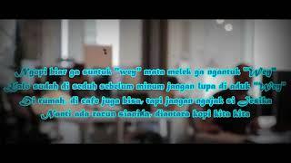 JUNIOR KEY X ECKO SHOW X ATTA HALILINTAR - Ngopi Apa Ngopi { LIRIK }