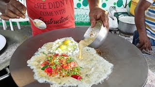 Bombay Omelette Curry || Amul Butter Egg Recipe || Street Food Surat || Mouth Watering Street Food