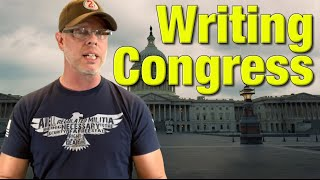 How to write a letter to Congress