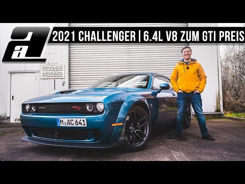 2021 Challenger Scatpack Widebody (6,4L V8, 496PS, 644Nm) | Das letzte ECHTE Muscle Car | REVIEW