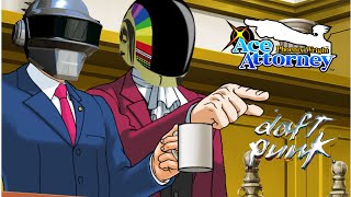Phoenix Wright - Harder, Better, Faster, Stronger | Daft Punk