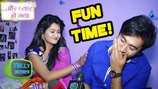 Download Video Raj Avni Fun Times In Aur Pyaar Ho Gaya | Behind The Scenes | Zee Tv MP3 3GP MP4