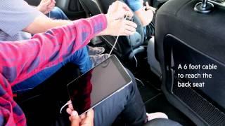 Автомобильное зарядное устройство 4-портовое BELKIN Road Rockstar 4USB 7.2А 1,8м от компании Avto-Max - видео