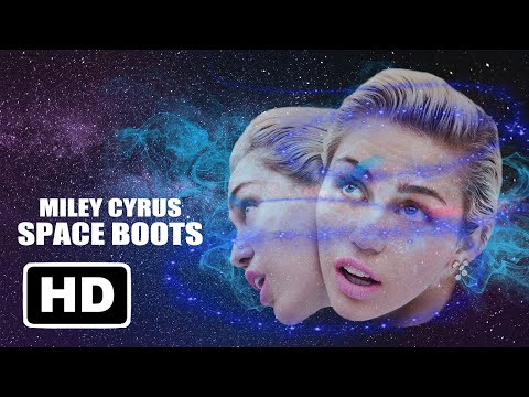 Miley Cyrus - Space Boots (Music Video Clip)