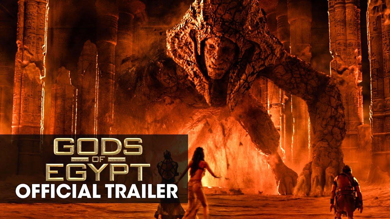 Trailer för Gods of Egypt