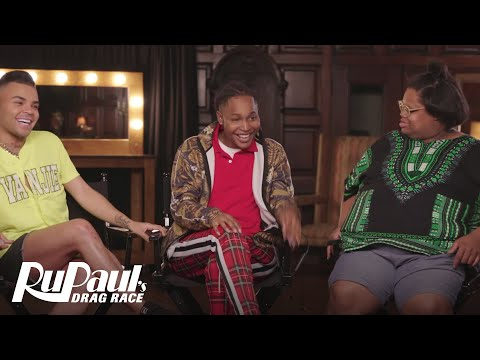 Queen to Queen: Vanessa Vanjie Mateo, A'Keria Davenport & Silky Nutmeg Ganache   RuPaul's Drag Race