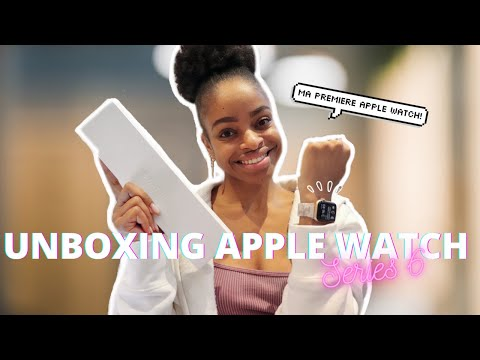 APPLE WATCH SERIES 6 UNBOXING!!!! (FR) | + mes différents cadrans et bracelets!