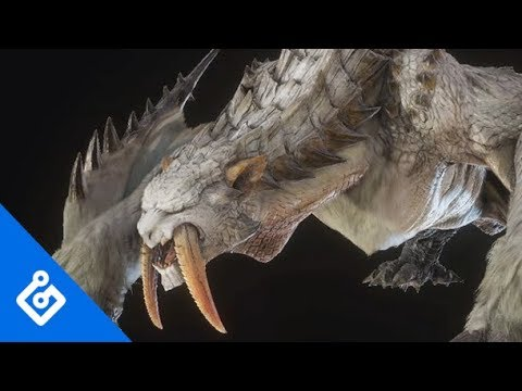 Exclusive Barioth/Banbaro Turf War Gameplay In Monster Hunter World: Iceborne